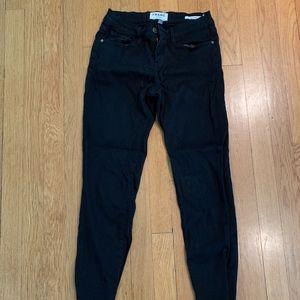 Frame denim black jeans, size 26